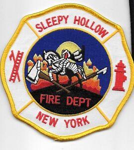 SLEEPY-HOLLOW-NEW-YORK-NY-FIRE-DEPT-HEADLESS-HORSEMAN-CROSS-AXE-AND-PICK-SH-FF