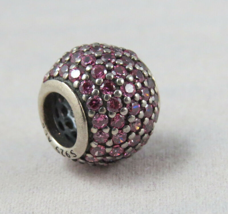 Pandora Pavé Lights, Fancy Pink Cz Charm