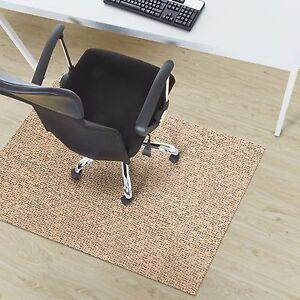 Top Design Bodenschutzmatte Bürostuhlunterlagen Stuhlmatten Bodenschutzmatten