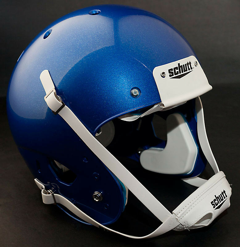 Schutt AiR XP Football Helmet LARGE (color  METALLIC DARK ROYAL blueE) NEW