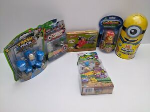 Grossery-Gang-Trash-Pack-Ooshies-Gloopers-Superetro-Minions-5-Brand-New