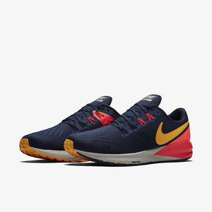 edef03a10571 Nike Air Zoom Structure 22 AA1636-400 Blackened Blue Mens Running ...