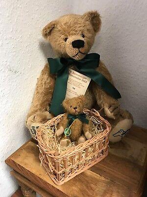 Hermann Teddy Orso Museumsbär 2002. 45 Cm. Disponibilità Limitata. Mattoncini.-mostra Il Titolo Originale E Avere Una Lunga Vita