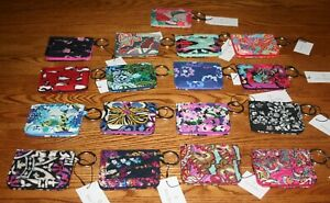 NWT-Vera-Bradley-CAMPUS-DOUBLE-ID-CASE-badge-or-gift-card-holder-small-wallet