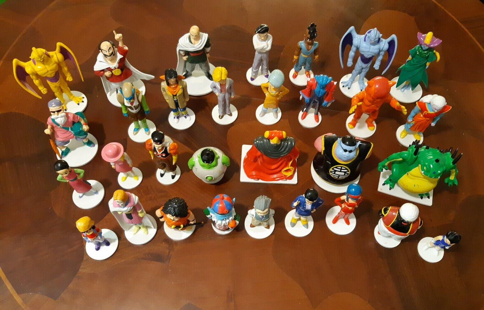 DRAGON BALL DeA 96 B.S. S.T.A 31 personaggi ACTION FIGURE lotto 31 DRAGONBALL GT