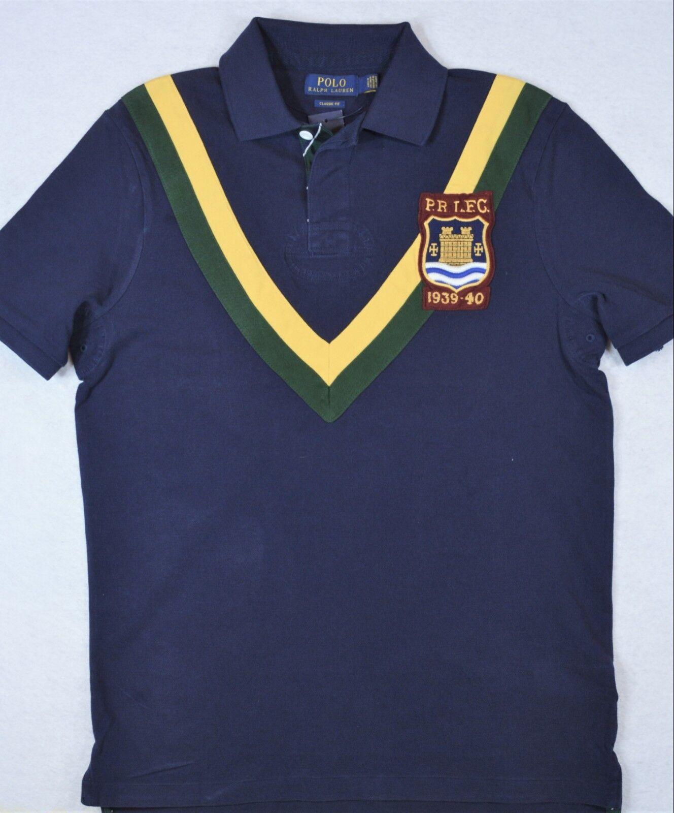 Polo Ralph Lauren Rugby Crest Mesh Shirt L & XL NWT