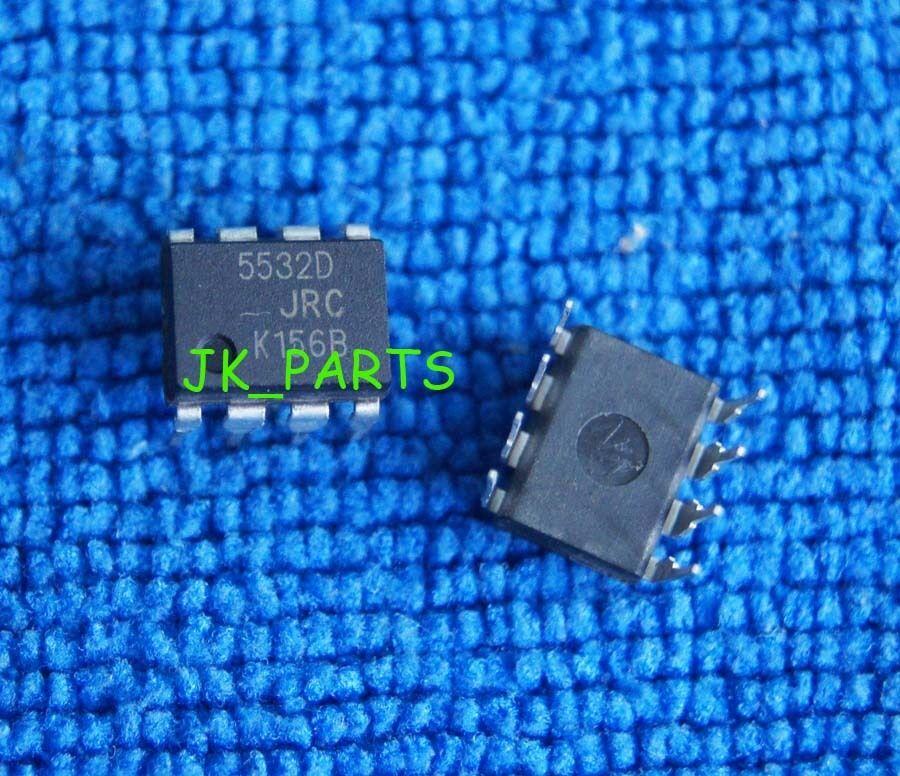 2x Circuit NJM2068D Dual Op-Amp Bipolaire DIP-8 JRC 217ic140