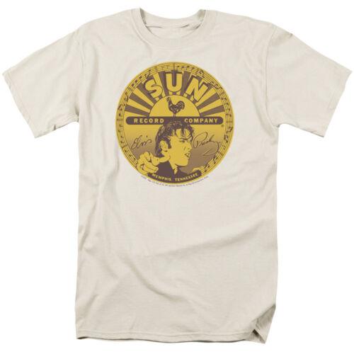 Sun Records ELVIS FULL SUN LABEL Licensed Adult T-Shirt All Sizes