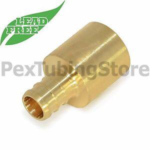 """25 3//8/"""" PEX Elbows Brass Crimp Fittings"""