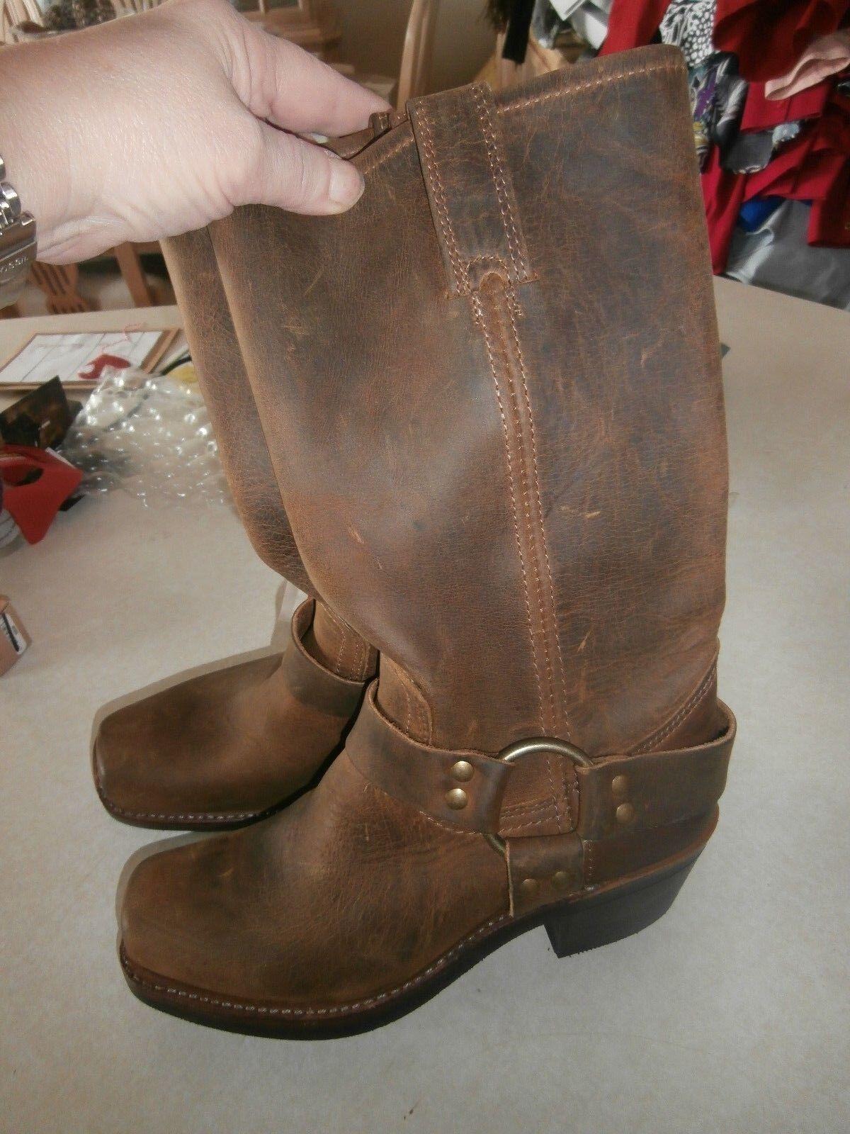 Au  friggere gli stivali bruno 6.5 m  si affrettò a vedere