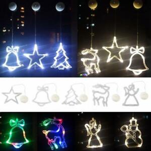 Fensterbeleuchtung Weihnachten Led.Details Zu Led Lichterkette Weihnachten Außenbeleuchtung Weihnachts Fenster Beleuchtung