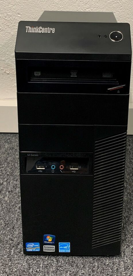 Lenovo, ThinkCentre M91p Desktop, 3.8 Ghz