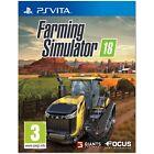 Farming Simulator 18 PS Vita Game - BRAND