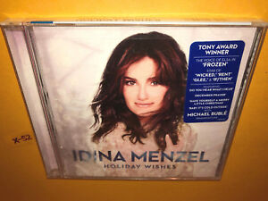 Michael Buble White Christmas.Details About Idina Menzel Frozen Cd Holiday Wishes Hits White Christmas Michael Buble Duet