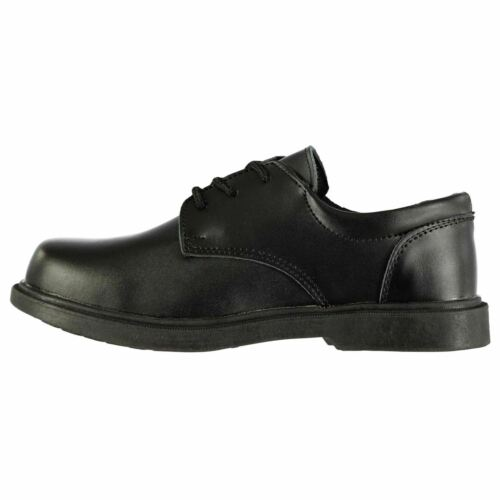 Lee Cooper Kids Boys Homer Leather Shoes Childs Smart Lace Up Comfortable Fit