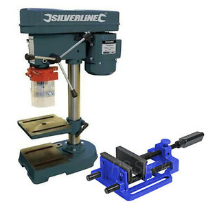 Rotary-Pillar-Drill-Drilling-Press-Bench-Machine-Table-Quick-Release-Drill-Vice