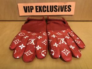 Louis Vuitton Lv X Supreme Red Baseball Gloves Rarest Item In The