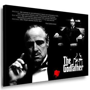 Leinwand Bild Godfather Bilder mit Keilrahmen xxl Kunstdruck kein Poster N.747