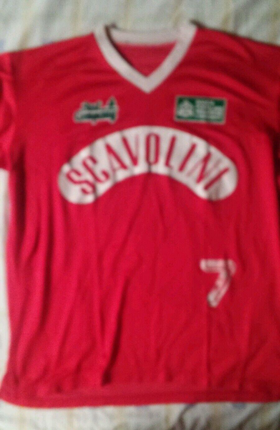 Camiseta jersey shirt maillot maglia trikot SCAVOLINI DE PESARO ITALIA ITALIA PESARO  XL 58853a