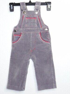 Vintage 80\u2019s LEE Kids Signature Corduroy Bright BLUE 18mo Overalls
