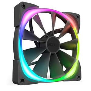 Nzxt-AER-RGB-2-HF-28140-B1-140mm-Case-Fan-LED-para-Hue-2-accionado-por-CAM