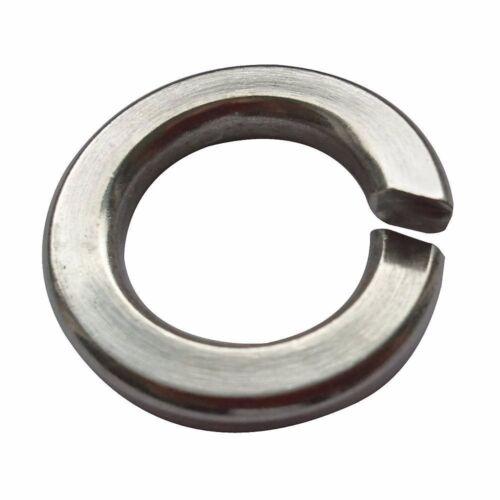 PK100 #1NY98 Split Lock Washer 5//16,18-8 SS M3682*K