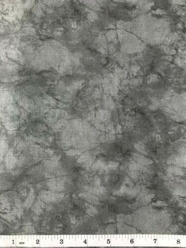 Yard Marble Pattern Quilt Fabric Light Gray