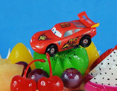 DISNEY PIXAR CARS Lightning McQueen Cake Topper Model Figure K1039_B