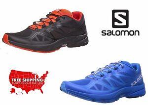 Salomon-Men-Athletic-Sneakers-Sonic-Pro-Running-Cross-Training-Pull-On-Shoes-NEW