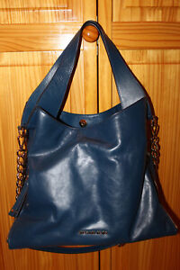 235869ef45 Image is loading NWT-AUTHENTIC-MICHAEL-KORS-DEVON-LARGE-SHINY-CRINKLE-