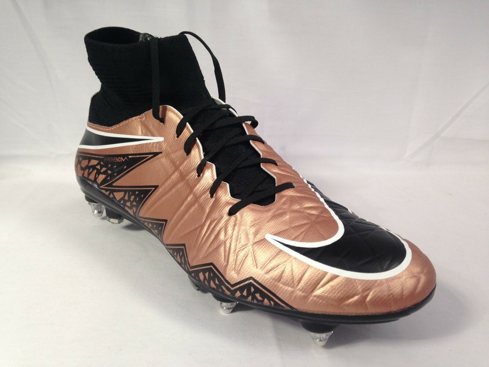 Para Hombre Nike Hypervenom Phatal II DF SG Pro 747491 903 Bronce Negro Tamaño  9