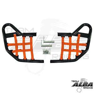 Yamaha-Raptor-700-YFM-700-YFM700-Nerf-Bars-Alba-Racing-Black-Orange-197-T1-BO