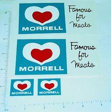 Dunwell Morrell Meats Semi Truck Sticker Set     DW-003