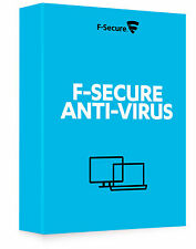 F-Secure Antivirus 2017  1 PC 1 Year License Key Over Mail ( Download )