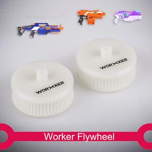 Worker Mod Flywheel Lightweight wheel Accessories for Nerf STRYFE RAPID STRIKE