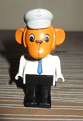 Légo x582c01 Fabuland Personnage Figure Lapin Bunny 1 du 801 /& 3708