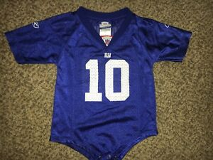8f2a52aa5 Toddler Kids Child Eli Manning NY Giants NFL Football Jersey Size 18 ...