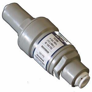 Pressure Regulator Filter Protection Quick Connect Valve