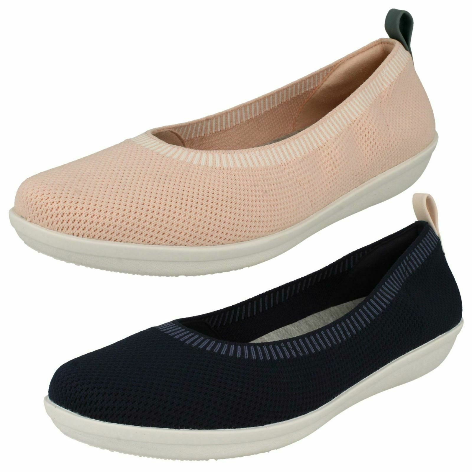 Mesdames Clarks's Casual Slip On chaussures-Ayla Paige