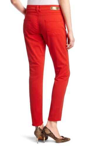 Hugo Boss Donna Leggero Chino Slim-Fit Jeans Rosso Slim leg-UVP 179,95 €
