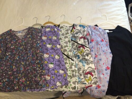 Ladies Smocks - 16 Assorted, size LARGE. Used, but