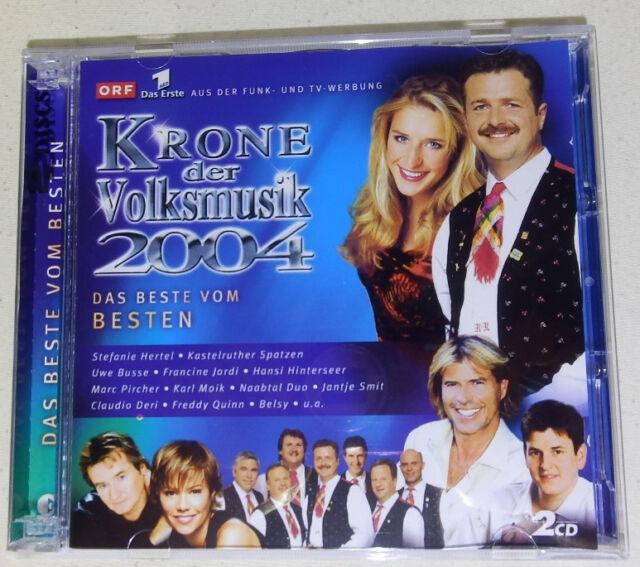 Doppel-CD-Box. Krone der Volksmusik 2004 - im neuwertigen Zustand