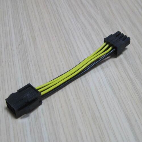 50pcs 8pin 6p PCI Express graphics Video Display Card Power socket 18AWG Cable