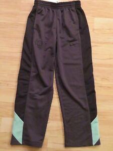 5a5d0012 Men's Nike Dri Fit KD Kevin Durant Gray Track Pants Mint Green Black ...