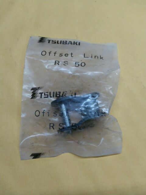 Tsubaki RS 50 Roller Chain Connecting Link RS50 for sale online