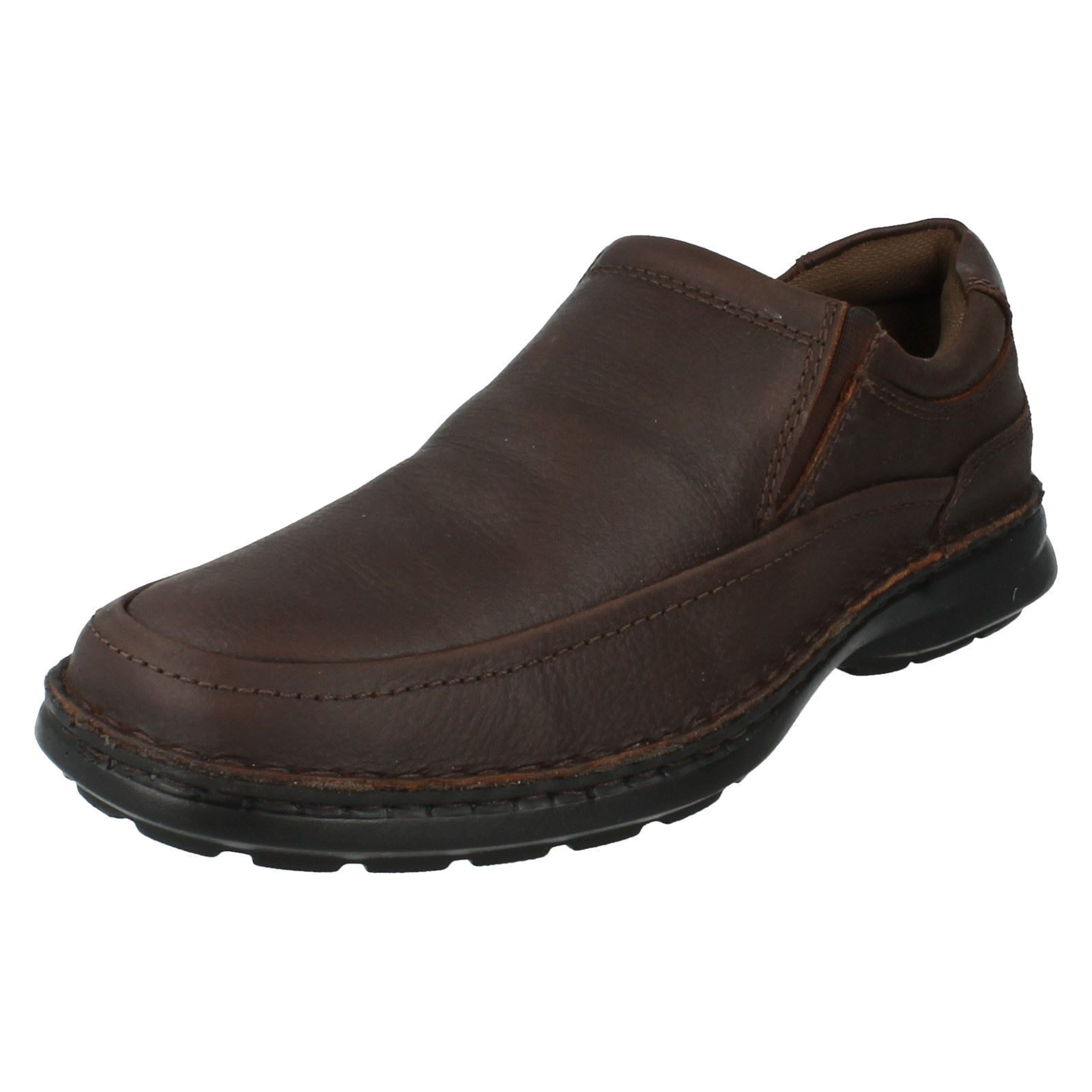 Easyflex 32009 Mens Brown Casual/Work Soft Leather Slip On Casual/Work Brown Shoes (R26B)(Kett) 4a39e1