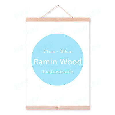 A4 A3 DIY Modern Magnet Poster Photo Picture Wooden Frames Hanger Wall Art Decor