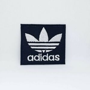 Adidas Sports badge Black Iron Sew on Embroidered Patch