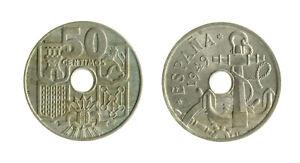 pci8215-SPAGNA-50-Centimos-1949-51-RARO