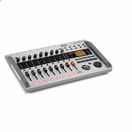 ZOOM R24 Simultaneous Multitrack Recorder w Tracking form  Free shipping